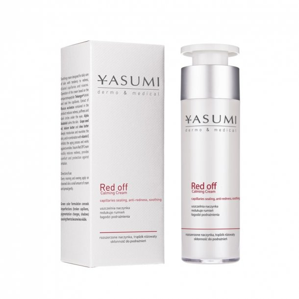 YASUMI Dermo&Medical Red Off Calming Cream